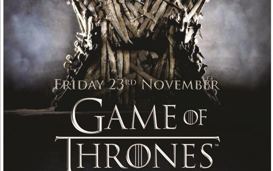 Games Of Thrones Charity Night
