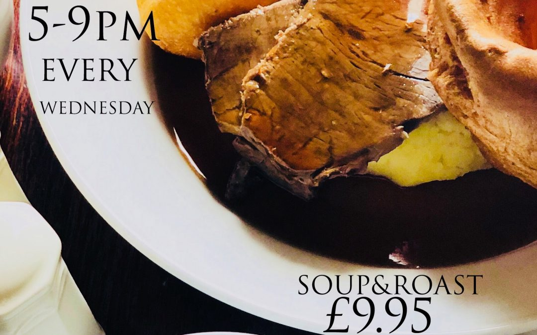 Wednesday Roast Special