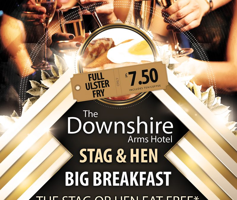 Hen & Stag Party Big Breakfast