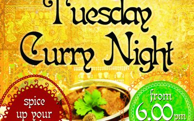 Curry Night – Every Tuesday Night